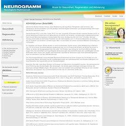 ADHS/IQ/Lernen (Beta/SMR)