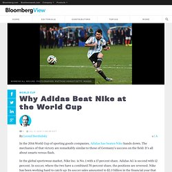 Why Adidas Beat Nike at the World Cup