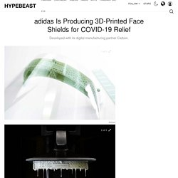 adidas x Carbon 3D-Printed Face Shields for COVID-19