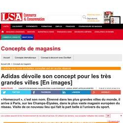 Adidas dévoile son concept pour les très...
