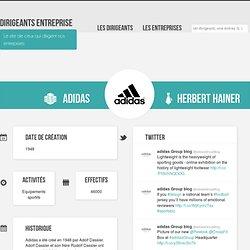 Adidas - Dirigeants Entreprise