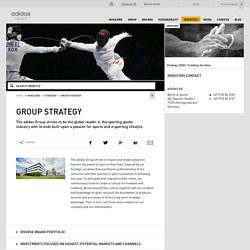 adidas Group - Group Strategy