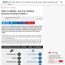 Nike VS Adidas : qui a le meilleur parcours d'achat mobile ?
