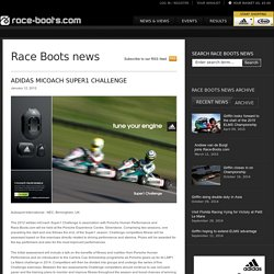 adidas miCoach Super1 Challenge - Race Boots