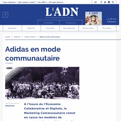 Adidas en mode communautaire