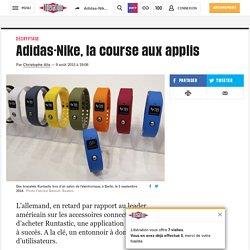 Adidas-Nike, la course aux applis