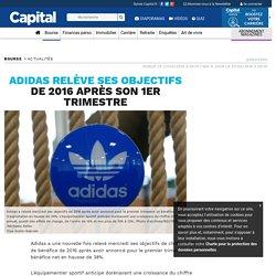 Adidas relève ses objectifs de 2016 après son 1er trimestre