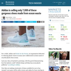 Adidas ocean waste shoes now available to buy - INSIDER