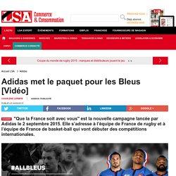 Adidas met le paquet pour les Bleus [Vidéo] - Enquêtes sur la consommation en France