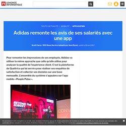 L'expérience collaborateur mesurée chez Adidas comme l'expérience client