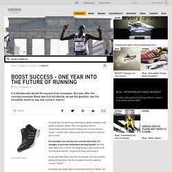 adidas Group - Boost success - One year into the future of running
