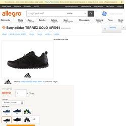 Buty adidas TERREX SOLO AF5964 (6595100332)
