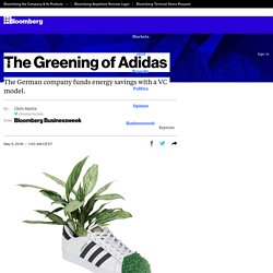Adidas Saving Money by Treating Energy Costs Like VC Investments