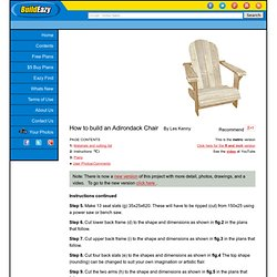 Adirondack Chair Project Metric version page 2