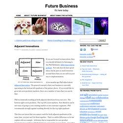 Adjacent Innovations