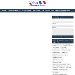 Adjectif qualificatif liste