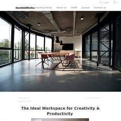 The Ideal Workspace - Adjustable Standing Desk - HumbleWorks.