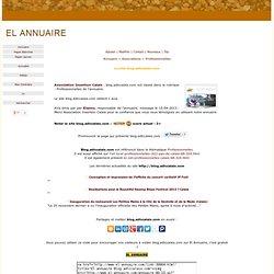 Site Blog.adlccalais.com - Enregistr sur la page Professionnelles de l