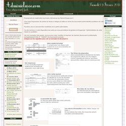 Application de gestion de classe - AdminiClasse, tout l'administratif de votre classe
