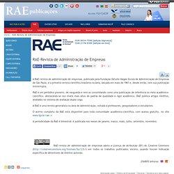 RAE - revista de administração de empresas