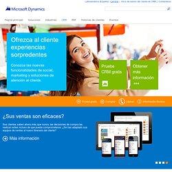 Microsoft Dynamics CRM: Administración de relaciones con clientes