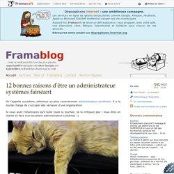 12 bonnes raisons d'être un administrateur systèmes fainéant