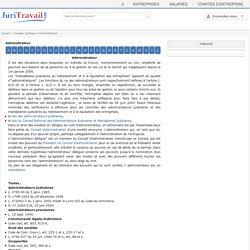 Administrateur : définition du lexique juridique de Juritravail