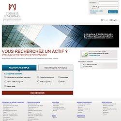 Immeubles - Site de vente des actifs - Conseil National des Administrateurs Judiciaires et des Mandataires Judiciaires