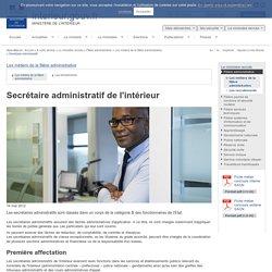 Secrétaire administratif / Les métiers de la filière administrative / Filière administrative / Le ministère recrute