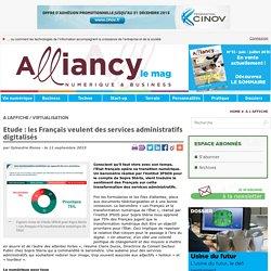 Etude : les Français veulent des services administratifs digitalisés