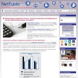 Administration numérique en France : Fractures numériques de compétences au sein des administrations et pour les citoyens