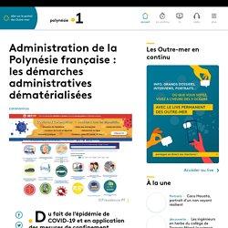 Administration de la Polynésie française : les démarches administratives d