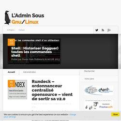 Administration Archives - L'admin sous GNU / Linux - Blog Libre