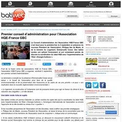 Association HQE - France GBC : 06-09-2016