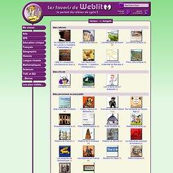 Les favoris de WeblitOO - Administration d'une catégorie