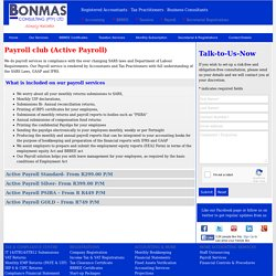 Payroll Services & Administration