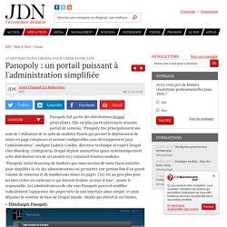 Panopoly : un portail puissant à l'administration simplifiée : 10 distributions Drupal pour créer votre site
