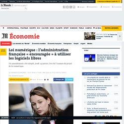 Loi numérique : l'administration française «encouragée» à utiliser les logiciels libres