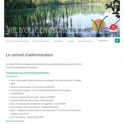 Le conseil d'administration - Val-d'Oise Environnement