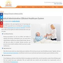 Medical Administration: Efficient Healthcare System