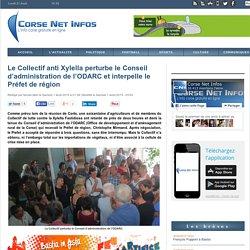 01/08 Collectif perturbe CA de l'ODARC, interpelle le Préfet
