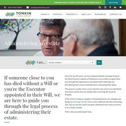 Estate Administration Services