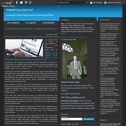 [Article blog avocat] SVE: le décret n° 2016-1411 du 20 octobre 2016 relatif aux modalités de saisine de l'administration par voie électronique - Le blog de Thierry Vallat, avocat au Barreau de Paris (et sur Twitter: @MeThierryVallat)