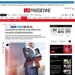 La parité en bonne voie dans les conseils d'administration - La Parisienne