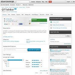 QTTabBar | Download QTTabBar software for free at SourceForge