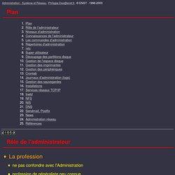 Administration - Système et Réseau