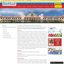 Top Management Universities in Bareilly