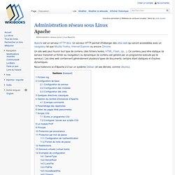 Administration réseau sous Linux/Apache