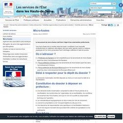 Micro-fusées / Activités aériennes / Activités réglementées et police administrative / Autres démarches / Démarches administratives