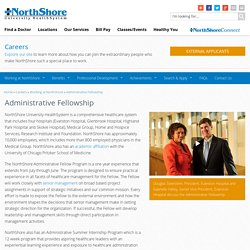 Administrative Fellowship